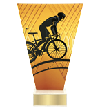 <span>Glass award  – road cycling<span style='color:#ff0066; font-weight:800;'> - PRODUCTION UP TO 5 WORKING DAYS</span></span> VL1/CYC 1