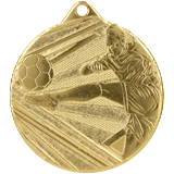 Medal 50 mm football, 1st place - gold  ME001 1