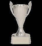 Кубок пластиковый серебряный SILA S 9202/S 2