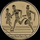 Aluminum emblem - running  D2-A32/G 1