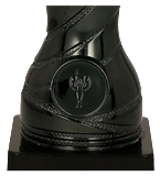 Кубок металлический серебряный 4179E 4