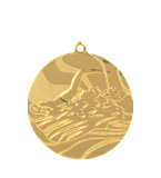 Medal 50 mm swimming, 1st place - gold MMC2750/G 11