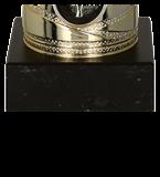 Кубок металлический золото-серебряный 7182D 5