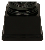 Кубок металлический серебряный 4179E 5