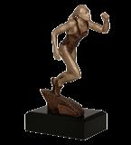Resin figure - running (women) RTY3766/BR 1