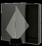 Glass award with presentation box C071 1