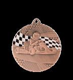 Medal 50 mm karts, 3rd place - bronze MMC8350/B 11