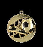 Медаль золотая футбол 70 мм MD1270/G 11