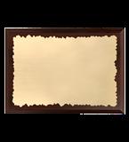 Деревянный диплом с гравированным ламинатом HG152/G 2