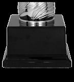 Металлическая чашка DEBORAS серебро 3145D 5