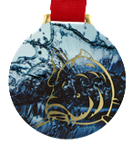 Steel medal FISHING - CARP MC6002/G-S+/FIS2 1