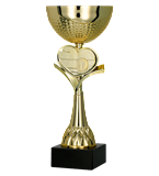 Gold metal cup 8344 1