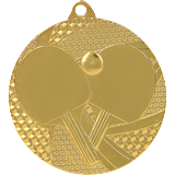 Medal 50 mm table tennis, 1st place - gold MMC7750 1