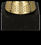 Золотисто-графитовая металлическая чашка TUMA BK 9216I 5