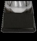 Металлическая чашка серебристо-синяя ELMOS BL 4208E 5