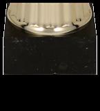 Кубок пластиковый золото-черный OTI BK 7193C 5