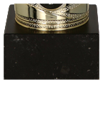 Gold & silver metal cup MADIKA 7182A 5