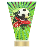 <span>Glass award  – football, ball, shoe<span style='color:#ff0066; font-weight:800;'> - PRODUCTION UP TO 5 WORKING DAYS</span></span> VL2/SOC3 1