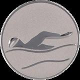 Aluminum emblem - swimming  D2-A9/S 1