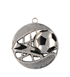 Medal 70 mm football, 2nd place - silver MD1270/S 11