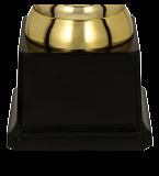 Кубок пластиковый золото-серебряный PELE 8311C 5