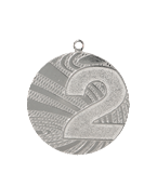 Medal 40 mm, 2nd place - silver  MMC6040/S 11