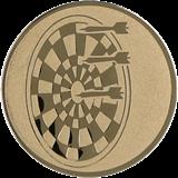 Aluminum emblem - darts  D2-A21 1