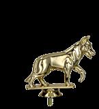 Plastic figure gold – DOG B227/G 1