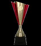 Kunststoff-Pokal Gold/Pink FABI PI 4204C 2