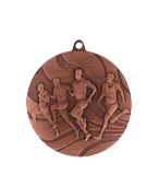 Medal 50 mm running, 3rd place - bronze MMC2350/B 11