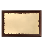 Wooden diploma with engraved laminate plate HG150/G 2
