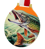 Steel medal FISHING - PICK MC6002/G-S+/FIS3 1