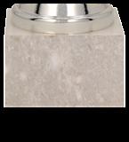 Кубок металлический серебряный 8317D 5