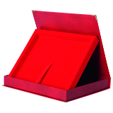Presentation box for wooden diploma BTY1709/R/R 1