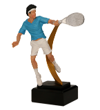 Resin figure - tennis RFST2106 1