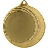 Steel medal 70 mm, 1st place - gold   MMC3075 1