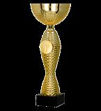 Gold metal cup 8345 1