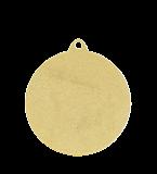 Медаль золотая 50 мм MMC0050/G 12