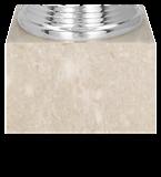 Silver plastic cup MOWIDAS 7163C/S 5