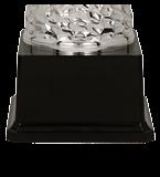 Кубок металлический серебряный EBIS 4178A 5