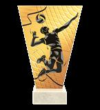 <span>Glastrophäe – Volleyball<span style='color:#ff0066; font-weight:800;'> - PRODUKTION BIS ZU 5 WERKTAGE</span></span> VL1-D/VOL-PW 4