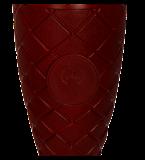 Metal cup gold-dark red ELMO RD 4207E 4