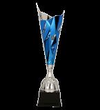Кубок металлический серебряно-синий DALIAS 3138C 2