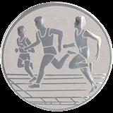Aluminum emblem - running  D2-A32/S 1