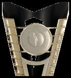 Кубок пластиковый золото-черный OTI BK 7193C 4