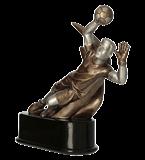 Resin figure – football RFST3018/BR 1
