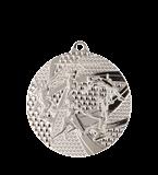 Медаль серебрянная легкая атлетика 50 мм MMC8450/S 11