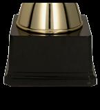 Золотисто-розовая металлическая чашка FABI PI 4204C 5
