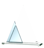 Glass trophy GS100-22 1