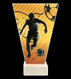 <span>Glastrophäe – Fußball<span style='color:#ff0066; font-weight:800;'> - PRODUKTION BIS ZU 5 WERKTAGE</span></span> VL1-D/SOC2-PW 4